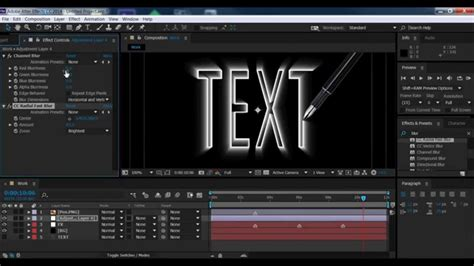 tutorial after effect text 3d 3d text tutorial adobe after effects cc 2014 youtube