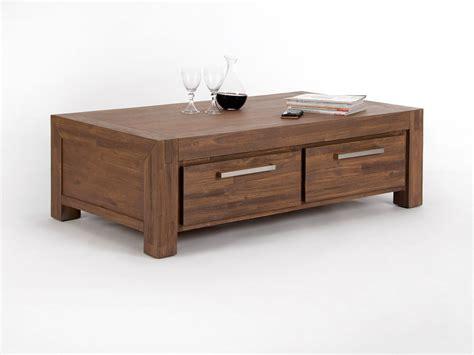tiroir table table basse carree bois avec tiroir ezooq