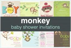 sock monkey baby shower invitation template baby clipart template pages new born baby shower