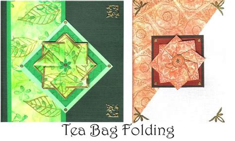 Tea Bag Paper Folding - 108 best images about teabag folding on iris
