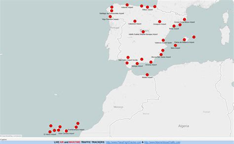 map of airports spain airports map plane flight tracker