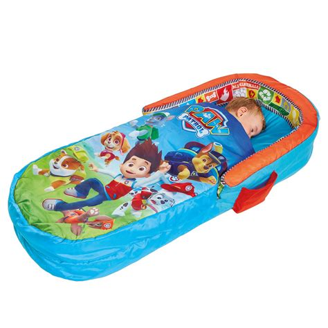 paw patrol bed paw patrol kids my first ready bed inflatable includes pump fully portable new ebay