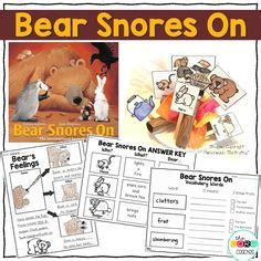 libro bear snores on 8 hibernation and migration ready to go resources