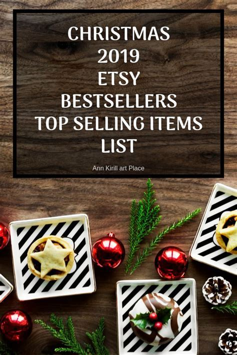 2019 Christmas Bestsellers, Etsy Christmas Trends Xmas