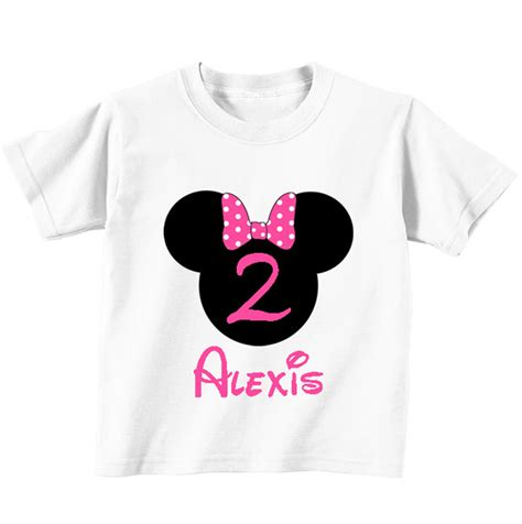 free printable iron on transfers for t shirts diy minnie pink printable iron on transfer birthday shirt