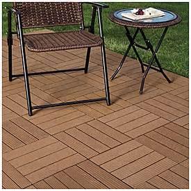 patio deck tiles interlocking polywood deck patio tiles 10 pack big lots