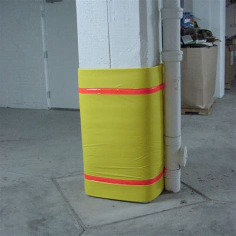 Parking Garage Column Protection by Column Protection Column Guards Bollard Covers