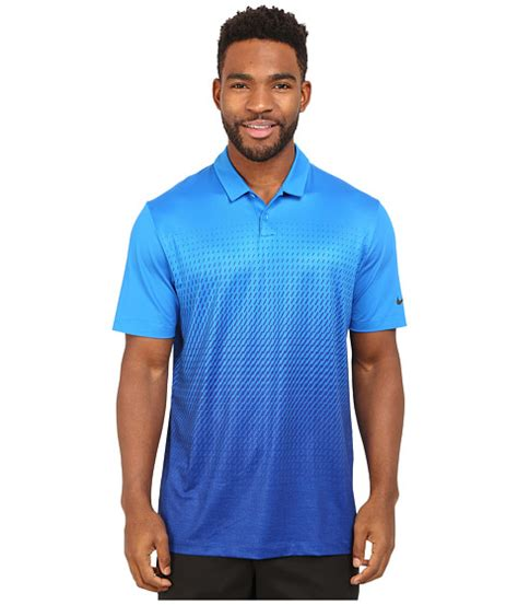Golf Nike Golf Mobility Fade Print Polo Electro Orange Ori nike golf mobility fade print polo photo blue royal blue anthracite 6pm