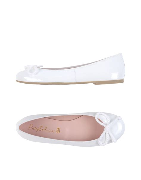 Pretty Flats by Pretty Ballerinas Ballet Flats In White Lyst