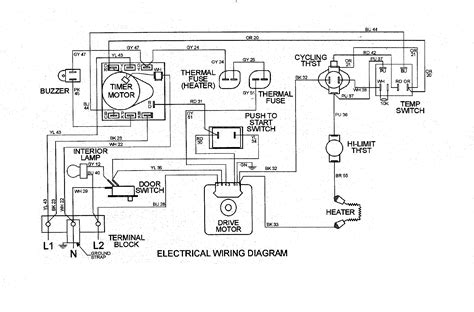 dryer wiring diagram wiring diagram and schematics