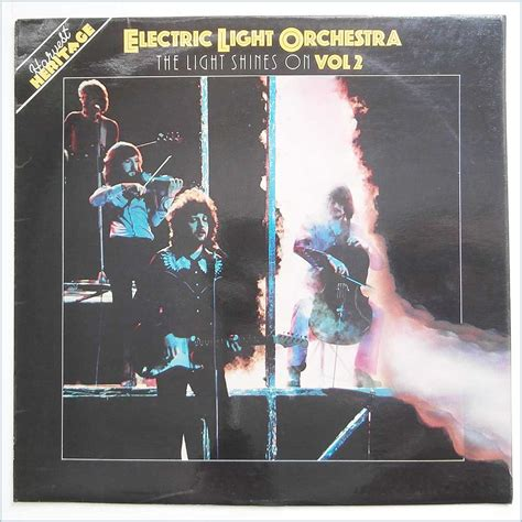 electric light orchestra the electric light orchestra electric light orchestra the light shines on records lps