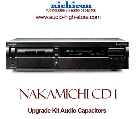 nakamichi cassette deck 1 nakamichi cassette deck 1 upgrade kit audio capacitors