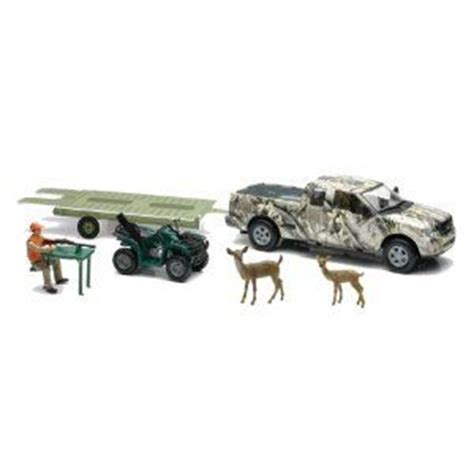 toy boat trailer and truck toy trucks trailer 4 wheeler pick up truck w atv