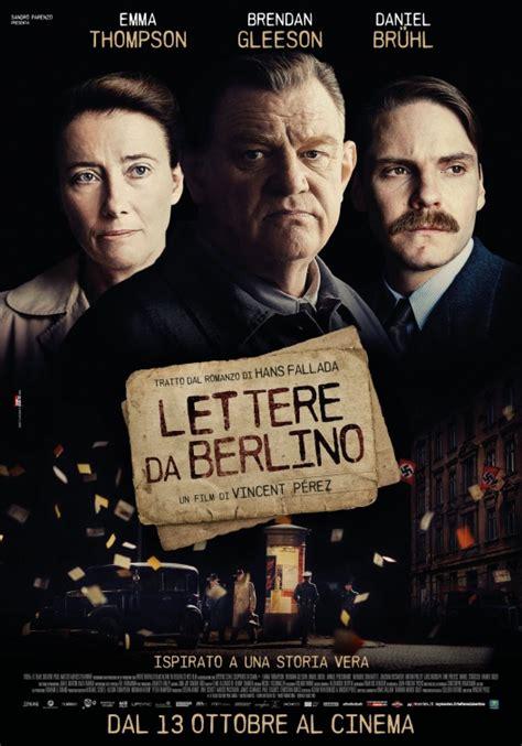Watch Alone Berlin 2016 Full Movie Alone In Berlin Movie Poster 2 Of 5 Imp Awards