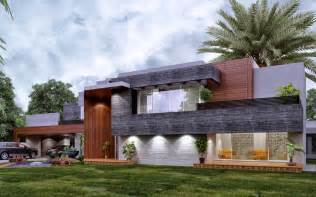 Modern Farmhouse Elevations Contemporary Farm House 3d Front Design