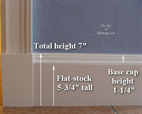 baseboard height standard baseboard height help are these baseboards too