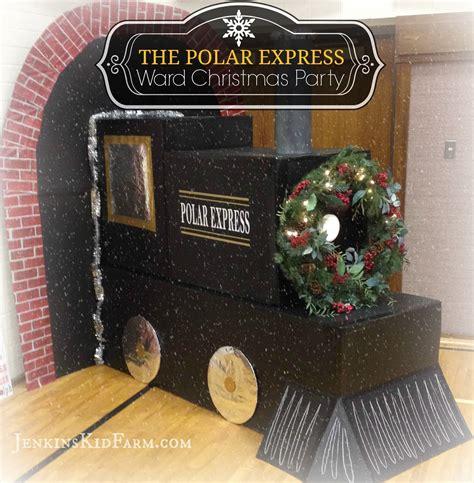 polar express decorating theme jenkins kid farm polar express ward