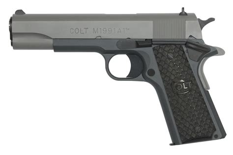 1991 colt government 45acp stainless colt 1991 government model 45 acp with cerakote stone grey
