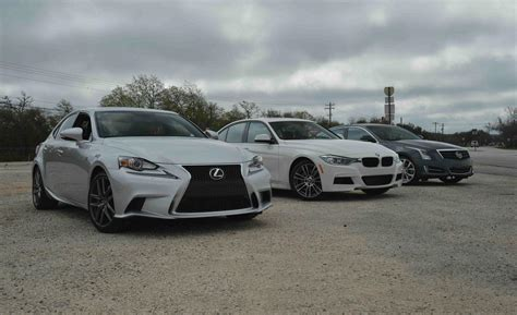 lexus is350 vs 2014 lexus is350 vs bmw 335i vs cadillac ats 3 6