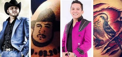 christian nodal gerardo ortiz y banda ms destacan en la lista de nominados a los premios de la los tatuajes m 225 s famosos regional mexicano kebuena