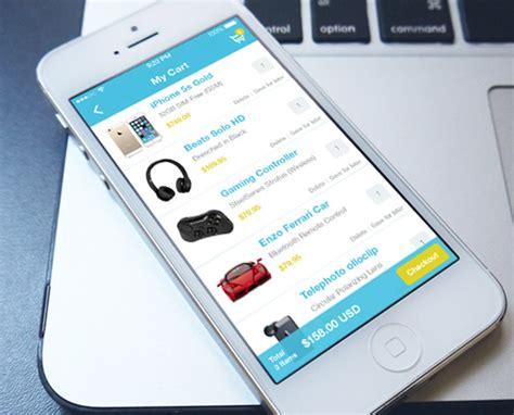 mobile layout exles 36 interface design mockups for mobile shops online
