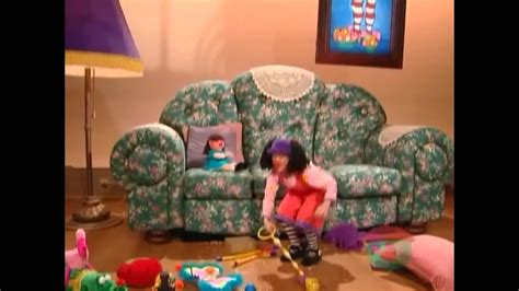 my big comfy couch episodes big comfy couch apple of my eye 10 second tidy youtube