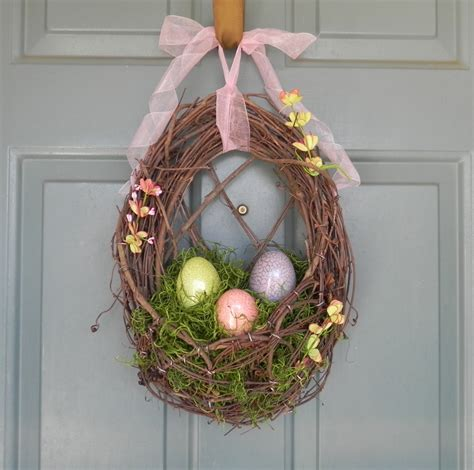 easter wreath 26 creative and easy handmade easter wreath designs