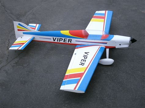 pattern airplanes rc f3a viper 55 4 nitro gas electric r c rc pattern