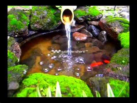 Air Mancur Mini Mini Landscape Model air mancur bambu kolam ikan aka bamboo for gold fish pond
