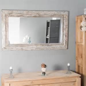 miroir venise en bois patin 233 140cm x 80cm