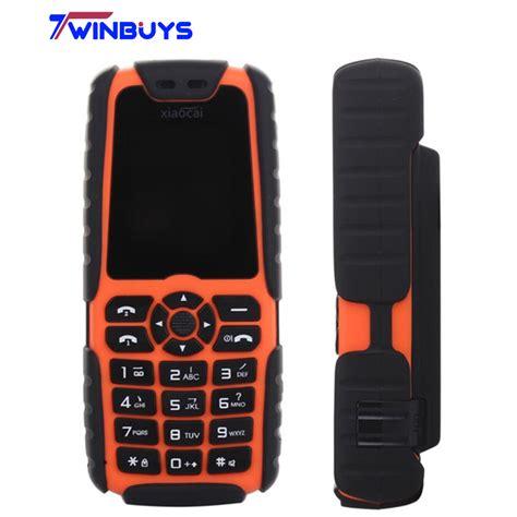 Doogie Original Phone Outdoor x6 mobile phone time standby 5000mah outdoor power