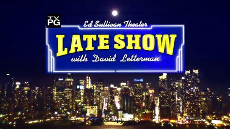 the late show top ten david letterman live performances spindle magazine