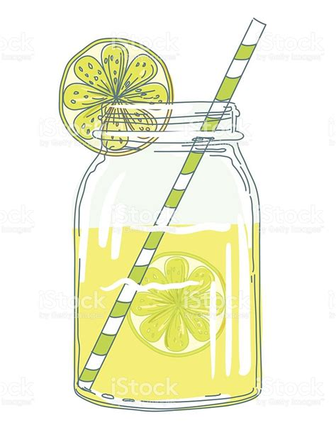 lemonade clipart summer jars with citrus slices and