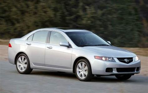 Used 2004 Acura TSX Sedan Pricing & Features   Edmunds
