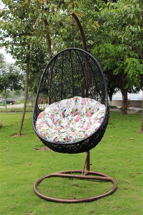 osier rotin balancoire chaise de lit tisse en forme doeuf hamac suspendu buy hamac accrochant