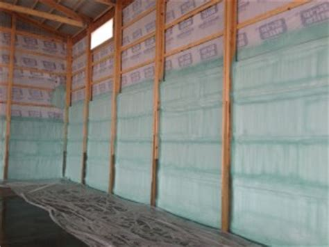 Garage Under House Plans by Pole Barn Insulation Home Comfort Insulationhome Comfort
