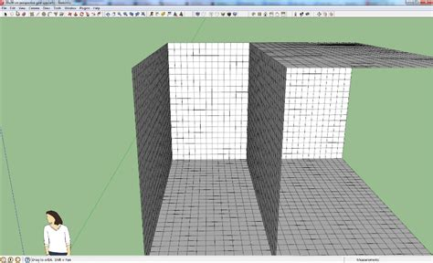 sketchup layout grid lines perspective grid archives worlds on paper