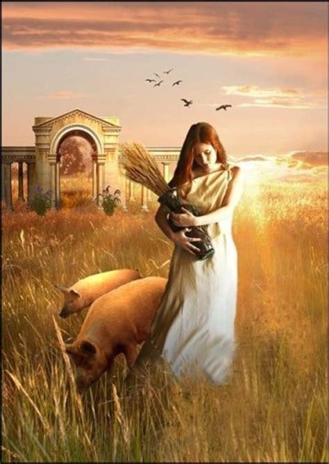 harvest of demeter goddess symbol demeter goddess of harvest