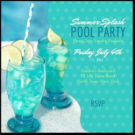pool party invitation template 7 premium download