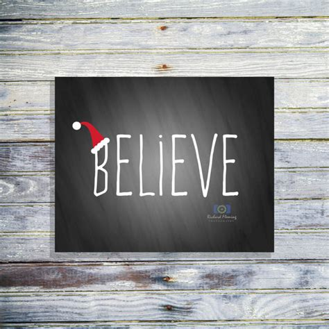 believe chalkboard sign home decor by fatandsassyink