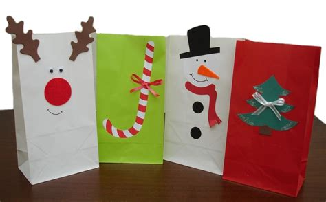 decorating paper bags for christmas decorations using paper bags www indiepedia org