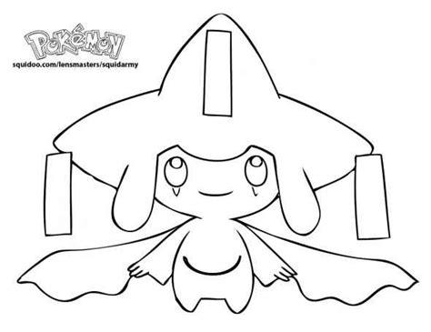 jirachi pokemon coloring pages pinterest pokemon