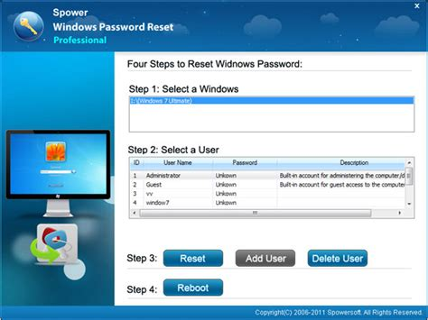 resetting windows user password toshiba password reset in windows 10 8 7 vista xp