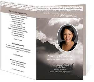 funeral bulletin template 1000 images about memorial programs on program template creative and tri fold brochure