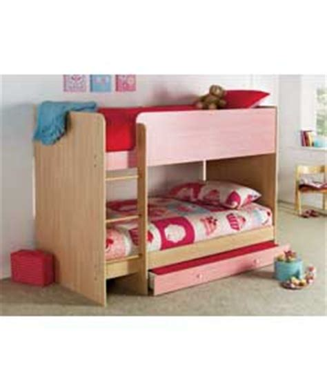 malibu bunk bed ruby mid sleeper bed blue pink white bed mattress sale