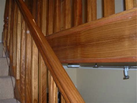 Mahogany Banister by Mahogany Stairs Door Choice Doors Floors Stairs