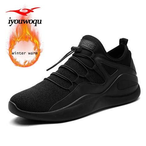 winter athletic shoes 2018 new arrivals winter running shoes for keep warm