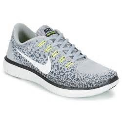 Leather Vanity Cases Nike Free Run Distance Grey Fast Delivery With Spartoo
