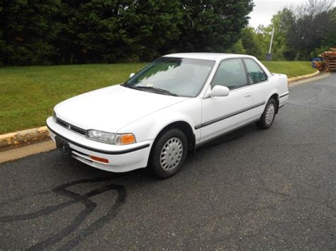 Honda Accord 2 Door by 1993 Honda Accord Lx 2 Door Coupe Automatic For Sale