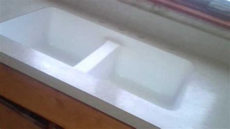 wilsonart laminate countertop with a karran undermount